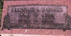 Eleanor Katherine Ella <i>Fortney</i> Barnes