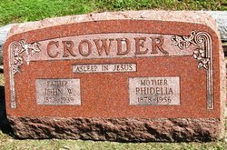 Phidelia <i>Dutcher</i> Crowder