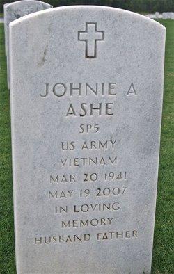 Johnie A Ashe