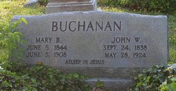 Sgt John W. Buchanan