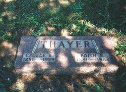 Edith Arilla <i>Post</i> Thayer