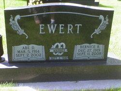 Abraham D Abe Ewert