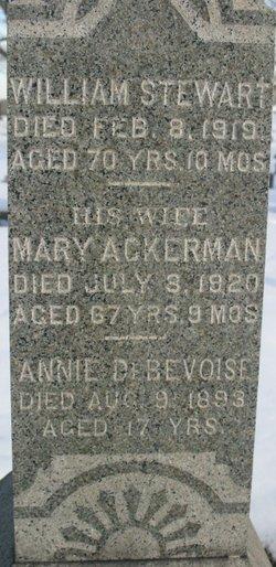 Mary Seymour <i>Ackerman</i> Thurston