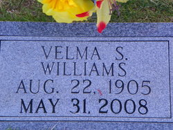 Sarah Velma <i>Shotts</i> Williams