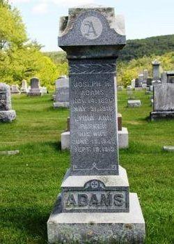 Lydia Ann <i>Parker</i> Adams