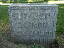 Elizabeth <i>Woollett</i> Carmon