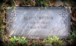 Ruby <i>Lengert</i> Hutton