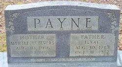 Myrtle <i>Lefevers</i> Payne