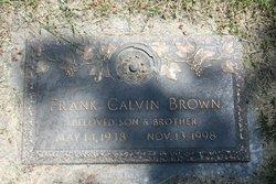 Frank C Brown