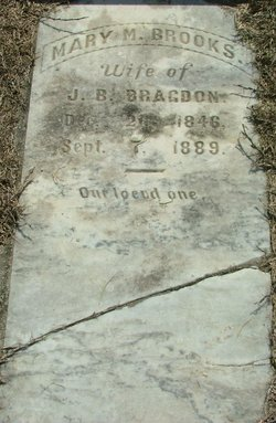 Mary M <i>Brooks</i> Bragdon