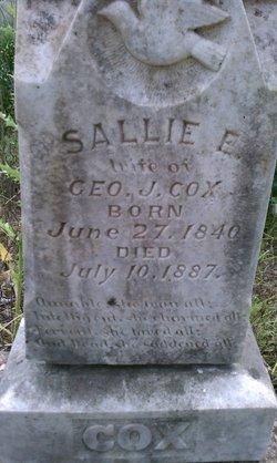 Sallie E Cox