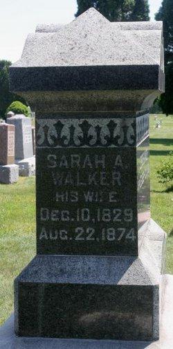 Sarah A <i>Walker</i> Winder