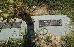 Addie Belle <i>Johnson</i> Alford