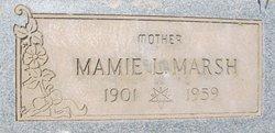 Mamie Louise <i>Hosfelt</i> Marsh
