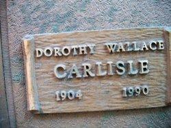 Dorothy <i>Wallace</i> Carlisle
