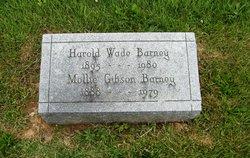 Mollie <i>Gibson</i> Barney