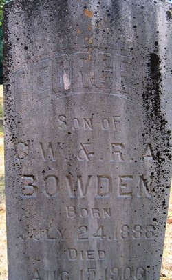 George Bowden