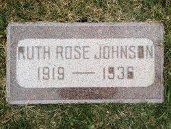 Ruth Rose Johnson