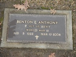 Benton L Anthony