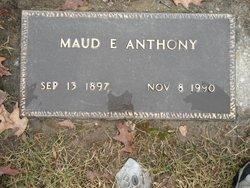 Maude E. <i>Bush</i> Anthony
