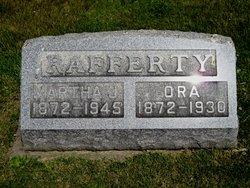 Martha Jane Mattie <i>Hauk</i> Rafferty