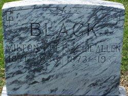 Sallie <i>Allen</i> Black