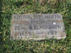 Antoinette Fears <i>Martin</i> Blackburn