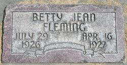 Betty Jean Fleming