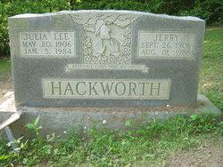 Julia Lee <i>Spradlin</i> Hackworth