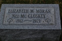 Elizabeth M Betty <i>McCloskey</i> Moran