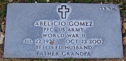 PFC Abelicio Gomez