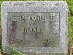 Benjamin Harrison Baker