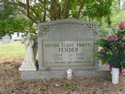 Brenda Elaine <i>Emmons</i> Fender