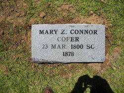Mary Zebulon <i>Conner</i> Cofer
