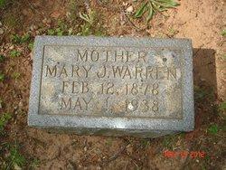 Mary Jane <i>Gravely</i> Warren