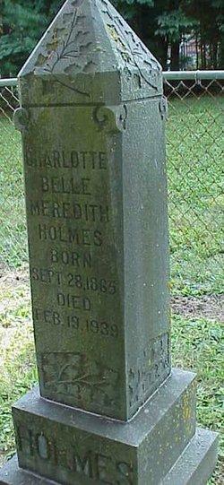 Charlotte Belle <i>Meredith</i> Holmes