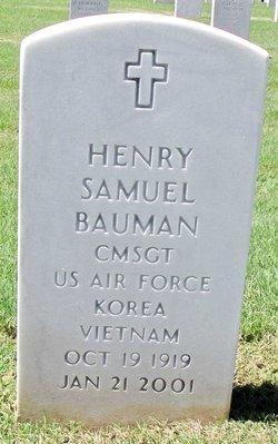 Henry Samuel Hank Bauman