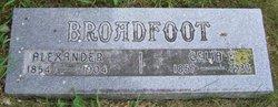 Celia Eliza <i>Tillotson</i> Broadfoot