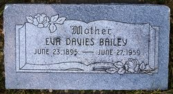 Evangiline Eva <i>Davis</i> Bailey