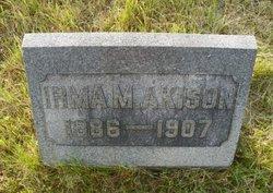 Irma M <i>Brown</i> Akison