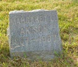 Margaret L Akison