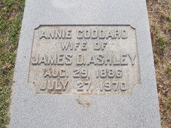 Annie <i>Goddard</i> Ashley