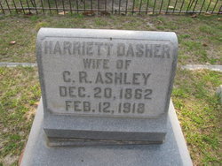 Harriet <i>Dasher</i> Ashley