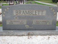 Dr Rader Hugh Bramblett