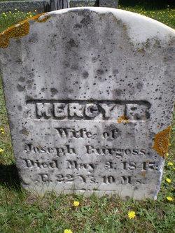 Mercy F. Burgess
