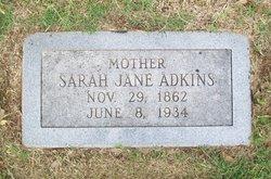 Sarah Jane <i>Moore</i> Adkins