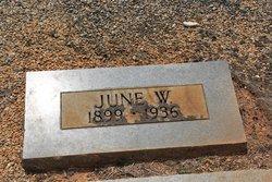 June W. White
