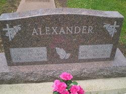 Evaline Lenore <i>McQueen</i> Alexander