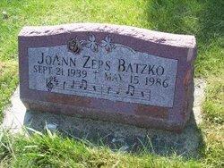 JoAnn <i>Zeps</i> Batzko