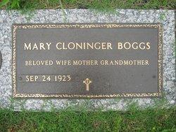 Mary Oliva <i>Cloninger</i> Boggs